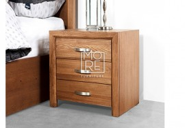 Fontana American Ash Solid Timber Bedside Table