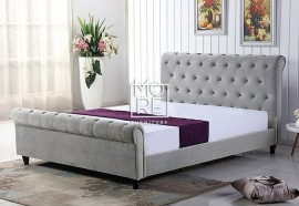 DB Velvet Stud Bed Frame
