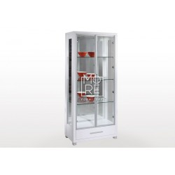 Belgium High Gloss Display Cabinet with Light
