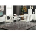 Cara Matt White Timber 1.8m Dining Table