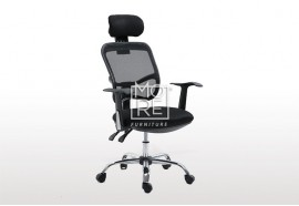 DB Headrest Mesh Executive High Back Office Chair