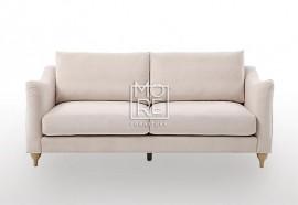 DB Luxury Velvet 2.5 Seater Pink Sofa
