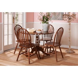 Federation 5Pce Timber Dropside Dining Suite