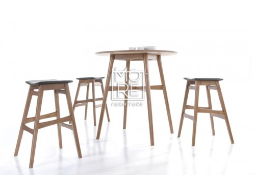 Enzo Timber Small Bar Table Natural