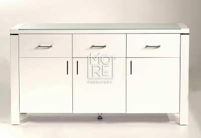 Edgewood High Gloss Buffet White