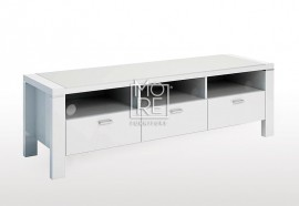 Edgewood High Gloss 1.5m TV Unit White