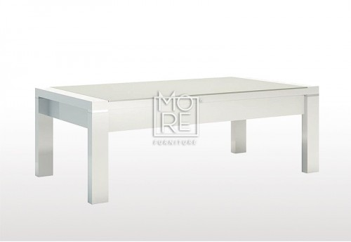 Edgewood High Gloss Coffee Table White