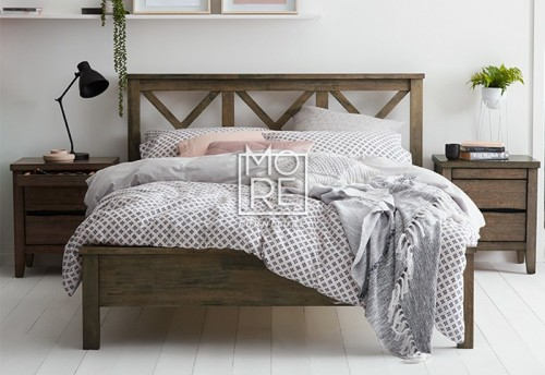 Beachcomber Solid Timber Bed Frame