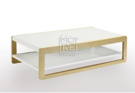 Oslo High Gloss Coffee Table White Oak