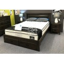 Antonio NZ Pine Timber Bed Frame with 2 Drawers