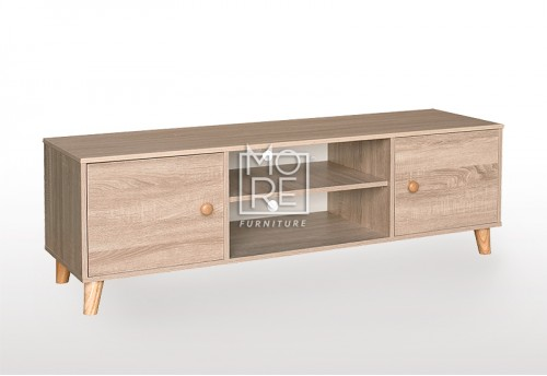 EVE Acacia 150 MDF 1.5m TV Unit Oak