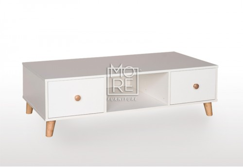 EVE Acacia Coffee Table White