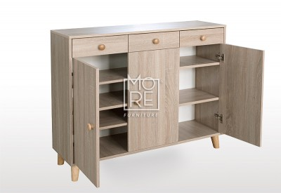 EVE Acacia Shoe Cabinet Oak