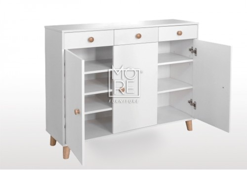 EVE Acacia Shoe Cabinet White