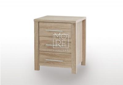 EVE CUE  Bedside Table Oak