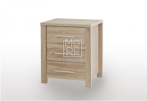 EVE CUE Bedside Table Oak