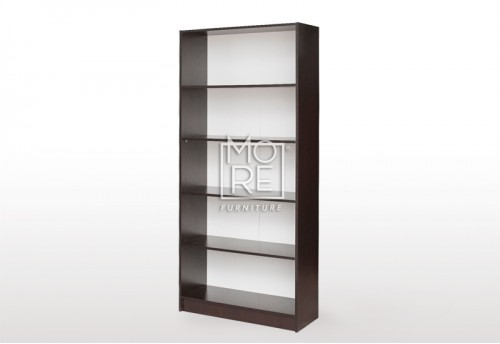 EVE MS MDF Bookshelf Walnut