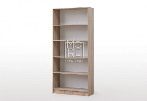 EVE MS MDF Bookshelf Oak
