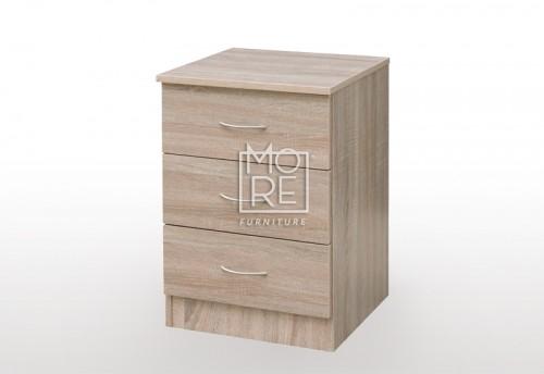 EVE MS MDF Bedside Table Oak