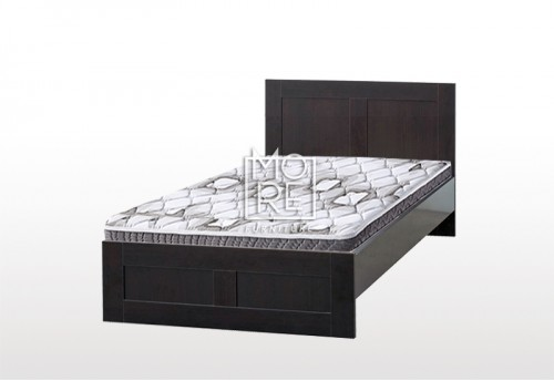 EVE ECCO MDF Bed Frame Walnut