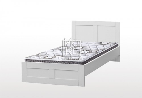 EVE ECCO MDF Bed Frame White