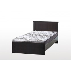 EVE CUE MDF Bed Frame Walnut