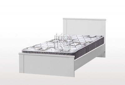 EVE CUE MDF Bed Frame White