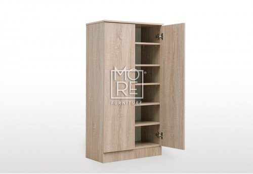 EVE MS MDF Shoe Cabinet Oak