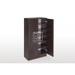 EVE MS MDF Shoe Cabinet Walnut