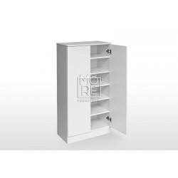 EVE MS MDF Shoe Cabinet White