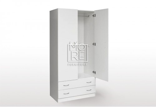 EVE MS MDF Wardrobe White