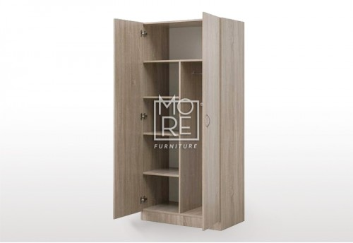 EVE MS Pantry Combo MDF Wardrobe Oak