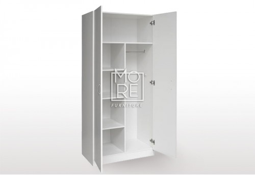 EVE MS Pantry Combo MDF Wardrobe White