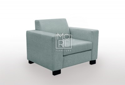 LG HB 1 Seater Premium Fabric Sofa (Custom Made)