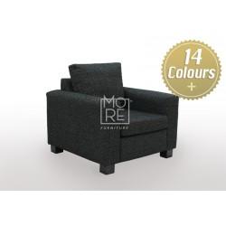 LG SB 1 Seater Premium Fabric Sofa (Custom Made)