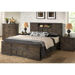 Langkawi Solid Timber Bed Frame