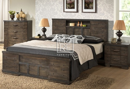 Langkawi Solid Timber Bed Frame