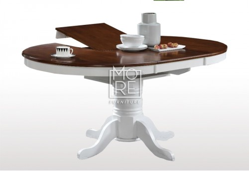 Casino Extension Timber 1.1m~1.5m Round Dining Table