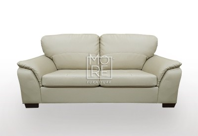 Botany 2.5 Seater PU Leather Sofa Taupe