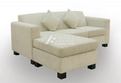 LG HB 3 Seater Chaise Fabric (Custom Made)