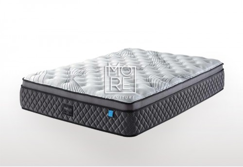 ICON Deluxe Firm Memory Foam&Latex Pillow Top Mattress