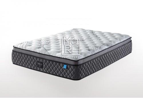 ICON Deluxe Medium Firm Memory Foam&Latex Pillow Top Mattress