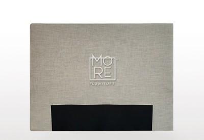 C01 Baxter Fabric Bedhead Cement