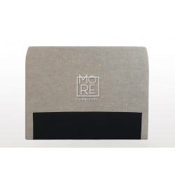 C02 Amelia Fabric  Bedhead Cement