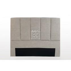 C04 Alara Fabric  Bedhead Cement