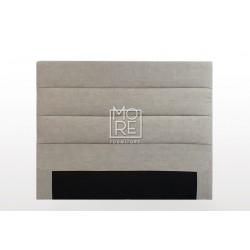 C05 Marli Fabric  Bedhead Cement
