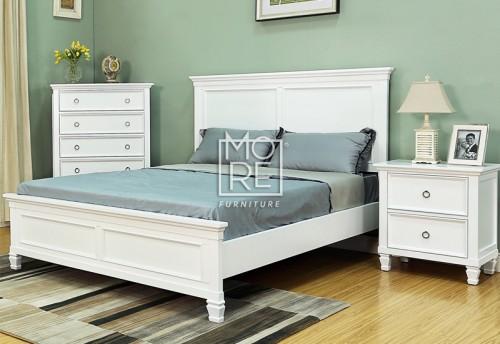 Tamarack Poplar Solid Timber Bed Frame