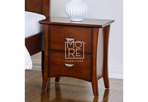 Clovelly Poplar Bedside Table