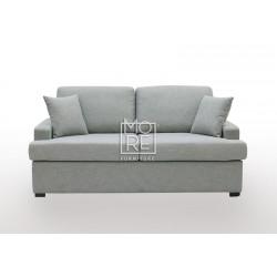 Zoom 2 Seater Fabric Sofa Grey