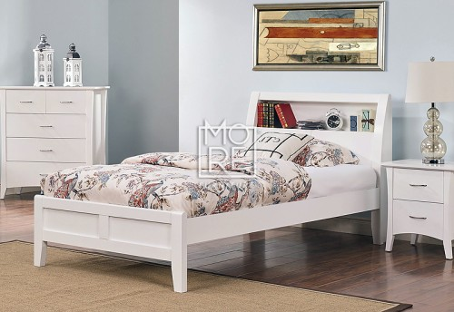 Cove Poplar Solid Timber Bed Frame